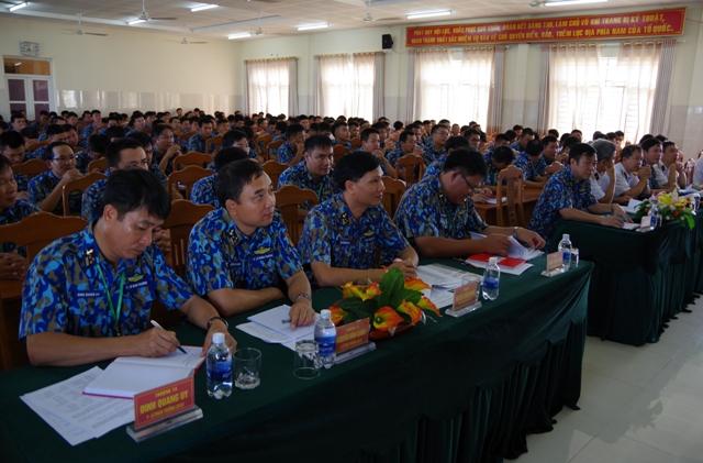 Lữ đoàn 167 tổ chức hội thi tàu tốt, hội thao huấn luyện tàu